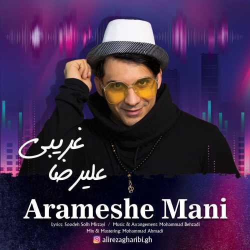 دانلود آهنگ جدید علیرضا غریبی بنام آرامش منی
